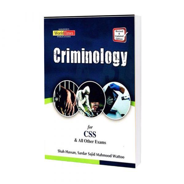 Criminology By Shah Hassan & Sardar Sajid Mahmmod Wattoo JWT