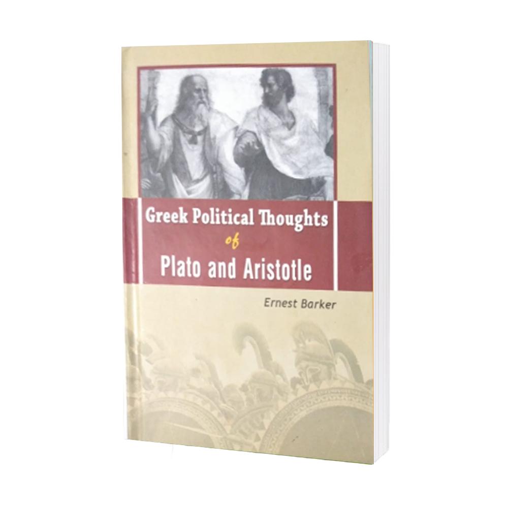 Greek Political Thoughts of Plato Ernest Barker