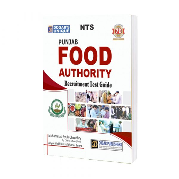 NTS Punjab Food Authority Recruitment Test Guide Latest Edition 2019