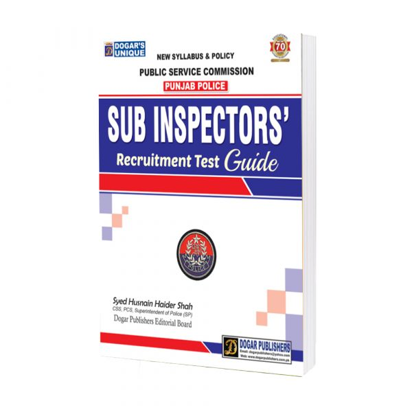 PPSC Sub Inspector Recruitment Test Guide