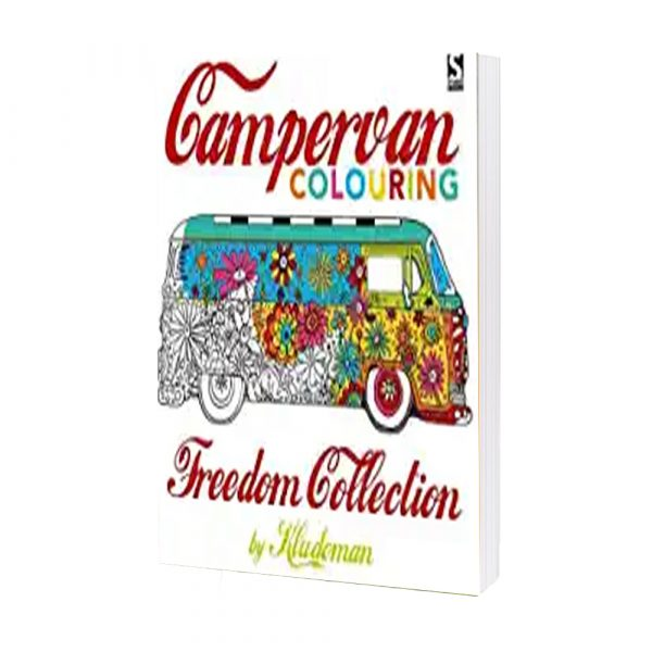 Campervan Colouring- Freedom Collection By Kludoman