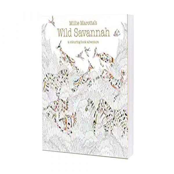 Millie Marotta's Wild Savannah- A Colouring Book Adventure