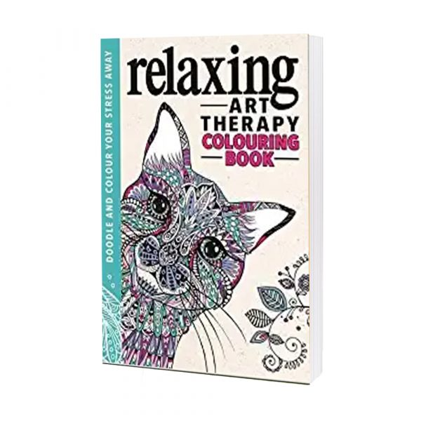 Relaxing Art Theraphy Colouring Book By Corinne Lucas