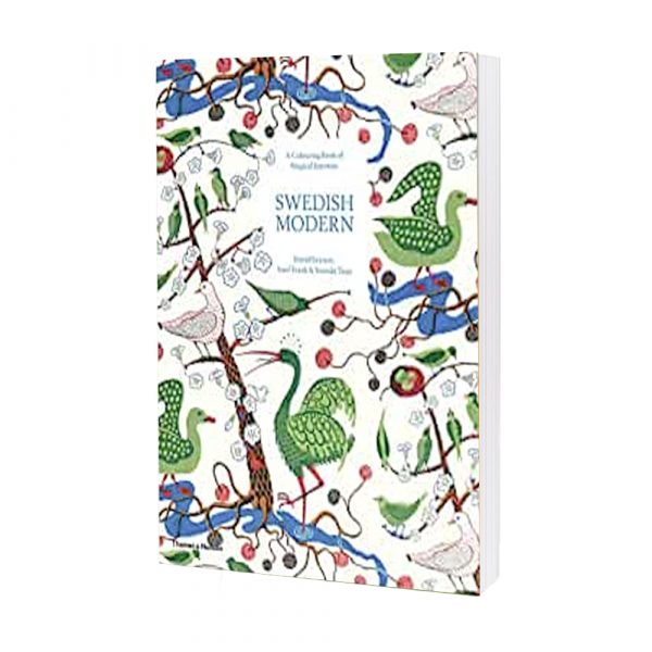 Swedish Modern- A Colouring Book Of Magical Interiors By Estrid Ericson