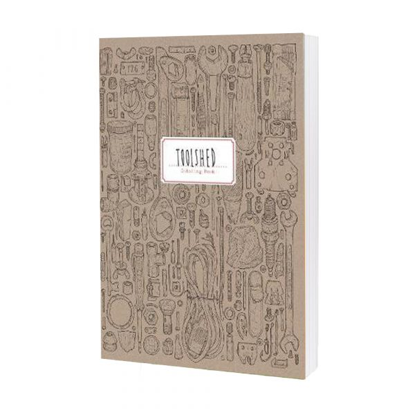 Toolshed Colouring Book By Lee John Phillips