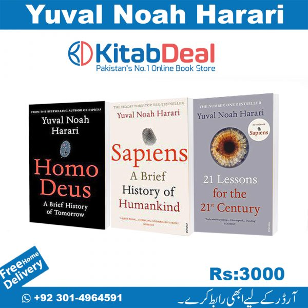 Three Books Deal By Yuval Noah Harari